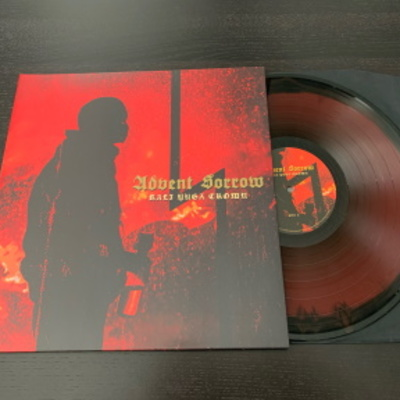 "Advent sorrow- ""kali yuga crown"" gatefold lp"