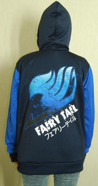 Fairy Tail Logo Hoodie Jacket On Storenvy