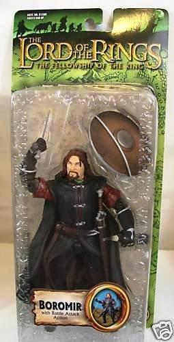 "Lotr Trilogy Boromir 6"" Toy Biz Lord Of The Rings Fellowship The Hobbit"