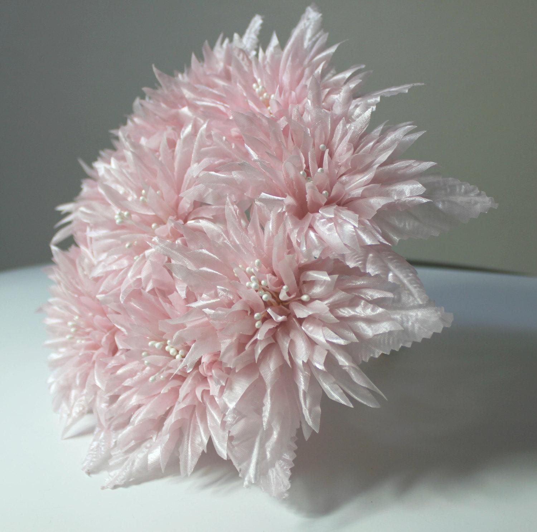 Final Sale Light Pink Flowers Bridal Bouquet Wedding Flowers