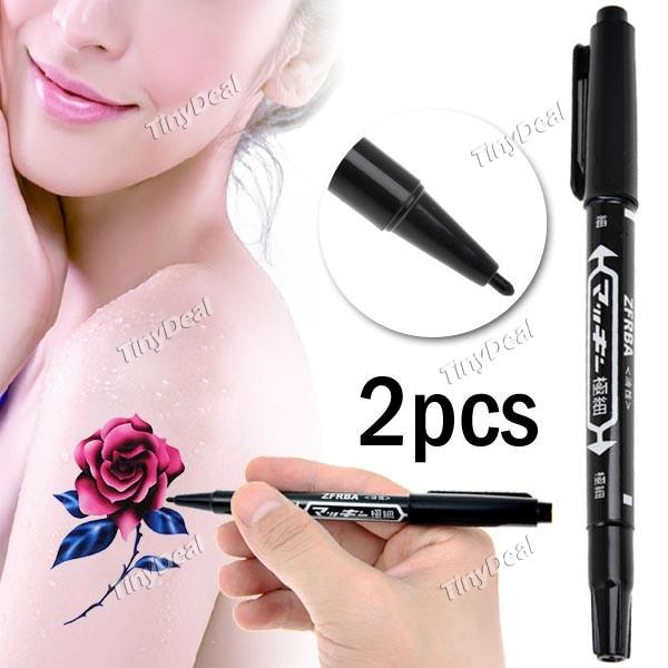 2pcs Tattoo Pen Tattoo Skin Marker Pen Tiny8388 Online