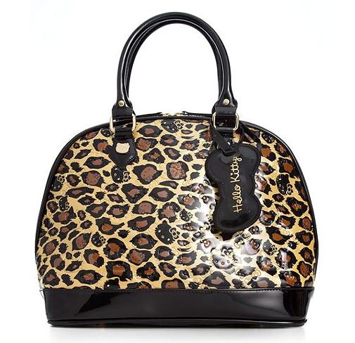 0f04f33f2 Hello Kitty Leopard Print Embossed Large Handbag · Trends ...