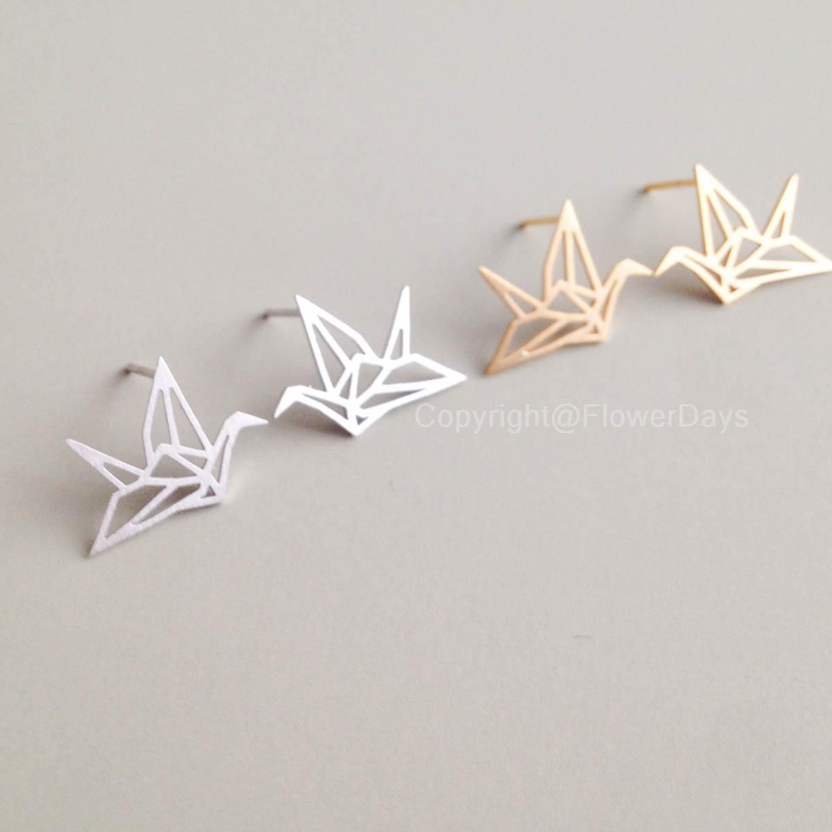 Origami Crane Necklace on Storenvy - photo#34