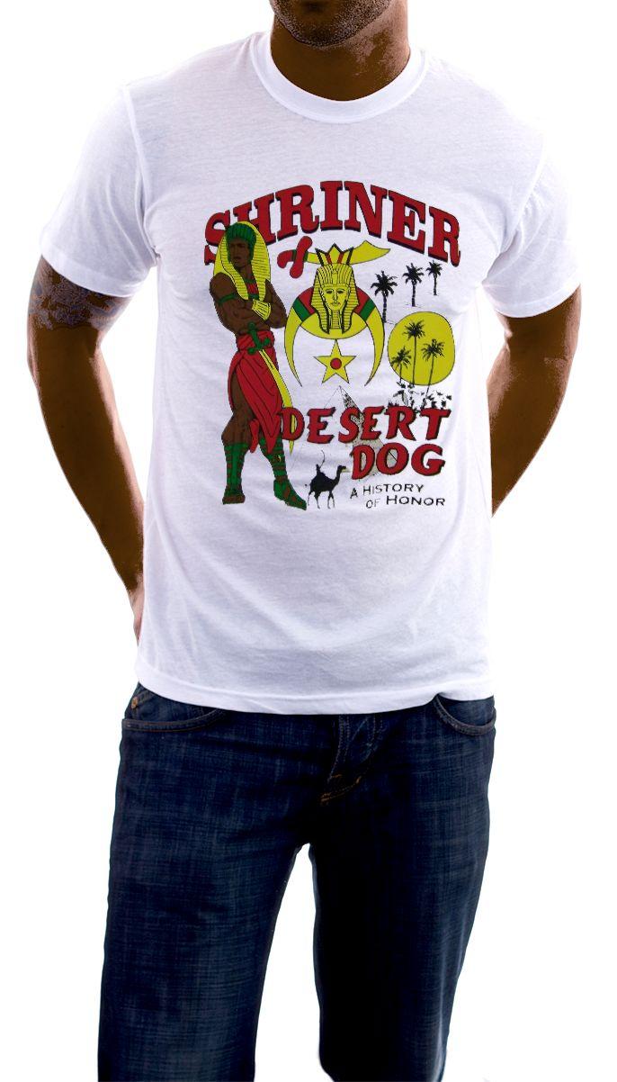 Storenvy coupon: Shriner - Desert Dog White T-Shirt