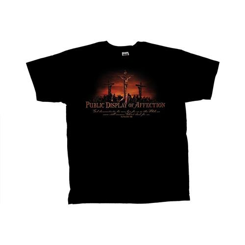 Storenvy coupon: Spiritual - Public Display of Affection Christian Black T-Shirt