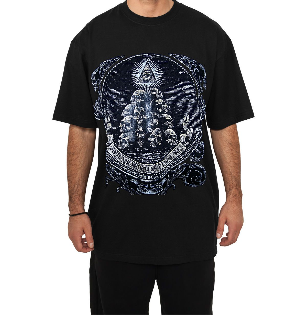 Storenvy coupon: Urban - All Seeing Eye, Death Equals All Things Black T-Shirt